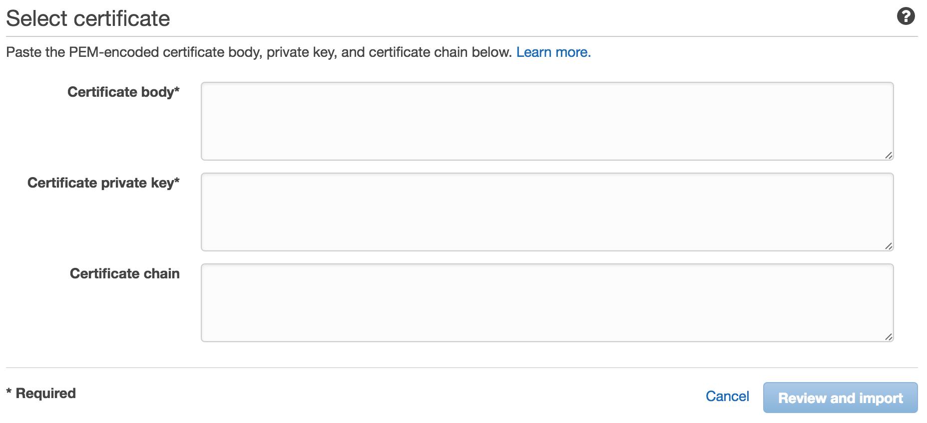 Installing A Self Signed Ssl Certificate On Elastic Beanstalk Joe